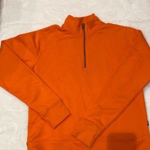 Obey orange sweatshirt